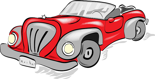 640x327 Antique Car Clipart