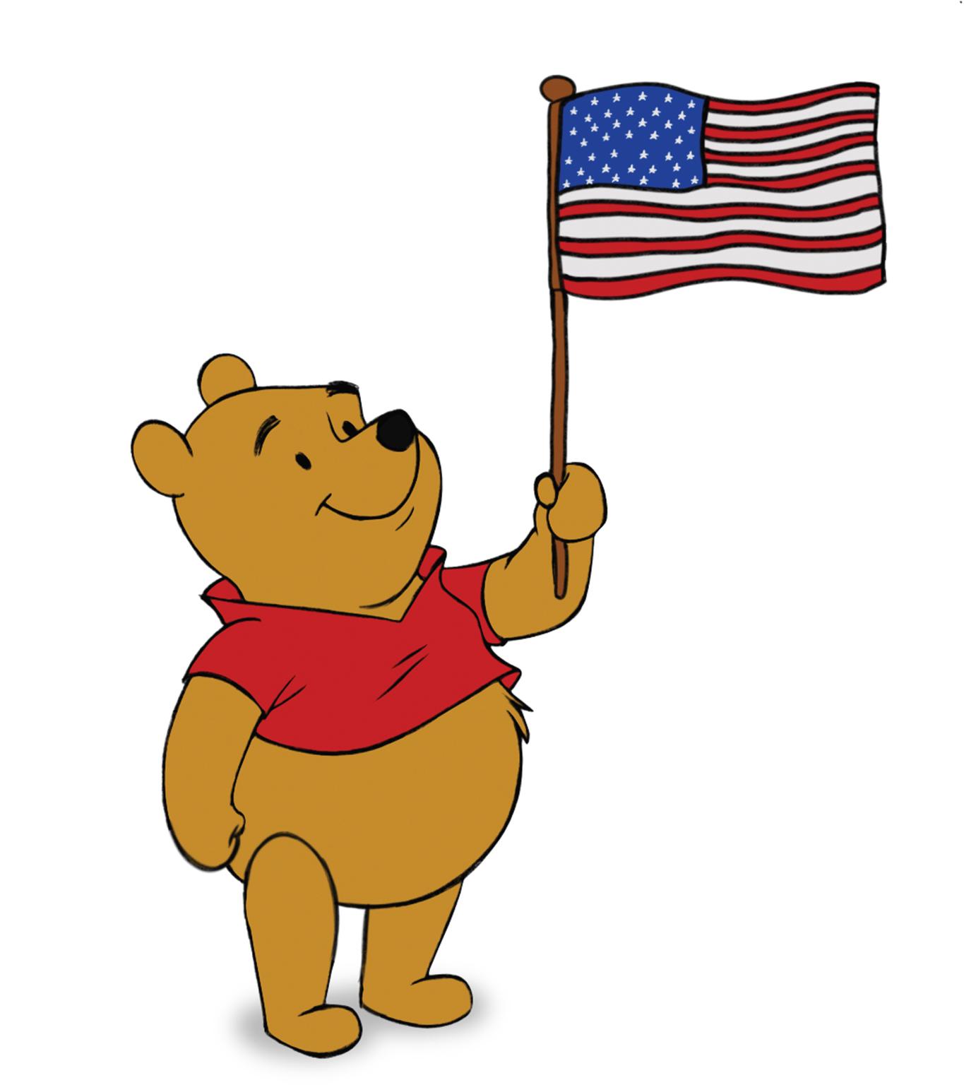 1365x1536 Pooh Mailman Clipart
