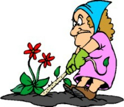 250x215 Garden Clean Up Clipart
