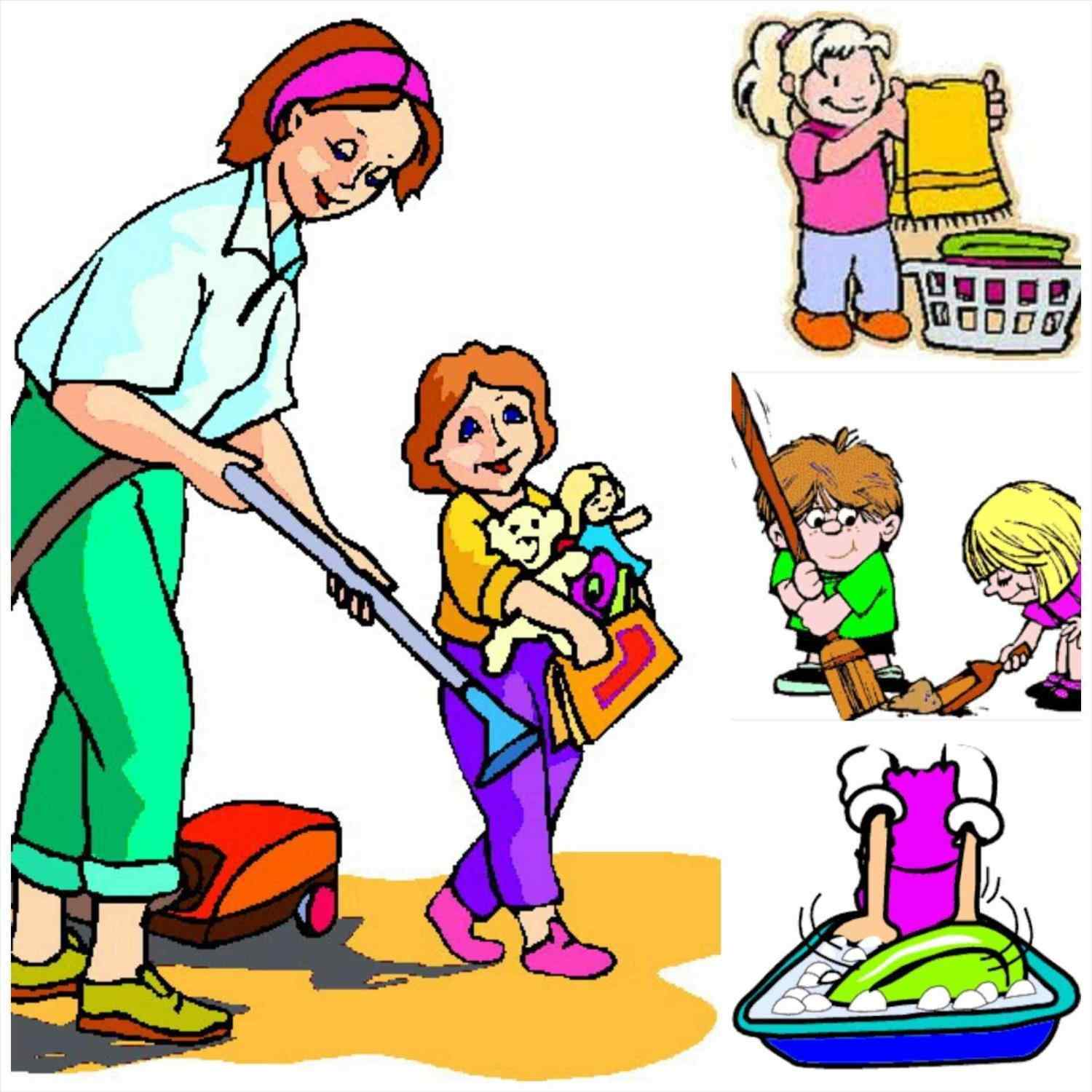 1500x1500 Kids Kitchen Clipart Mother Children Cooking Stock Vector Up Your