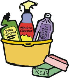 236x264 Clip Art Cleaning Supplies Clipart