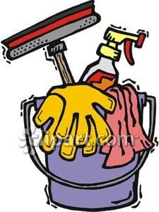 225x300 Funny Cleaning Clipart