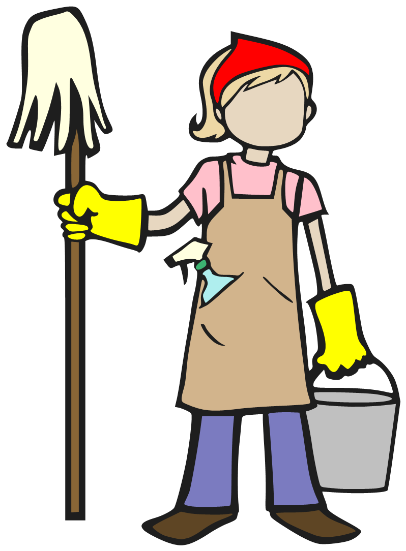 798x1084 Spring Cleaning Window Cleaner Clip Art
