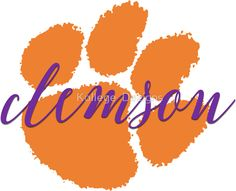 236x191 Clemson Tiger Paw Clemson Tigers Clemson Tiger Paw