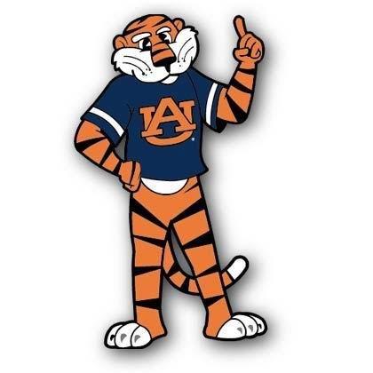 420x420 Clemson Tiger Mascot Clipart