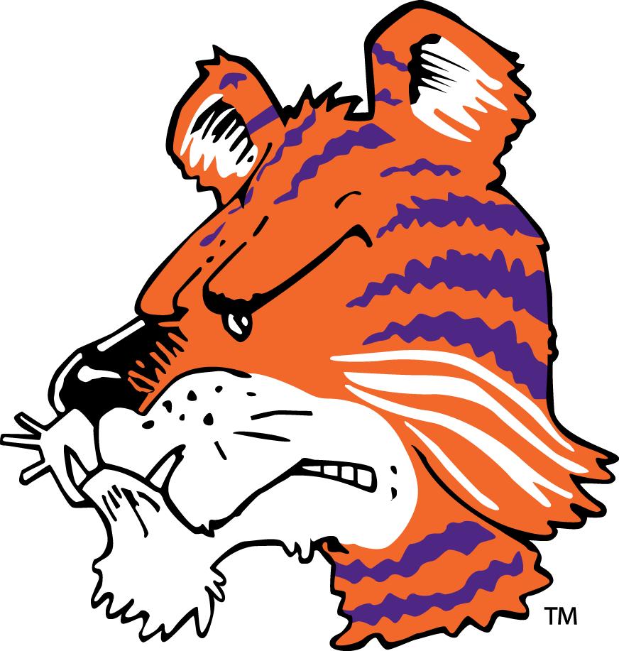 872x917 Clemson Tigers Mascot Logo