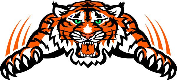 600x273 Clemson Tigers Mascot Clipart