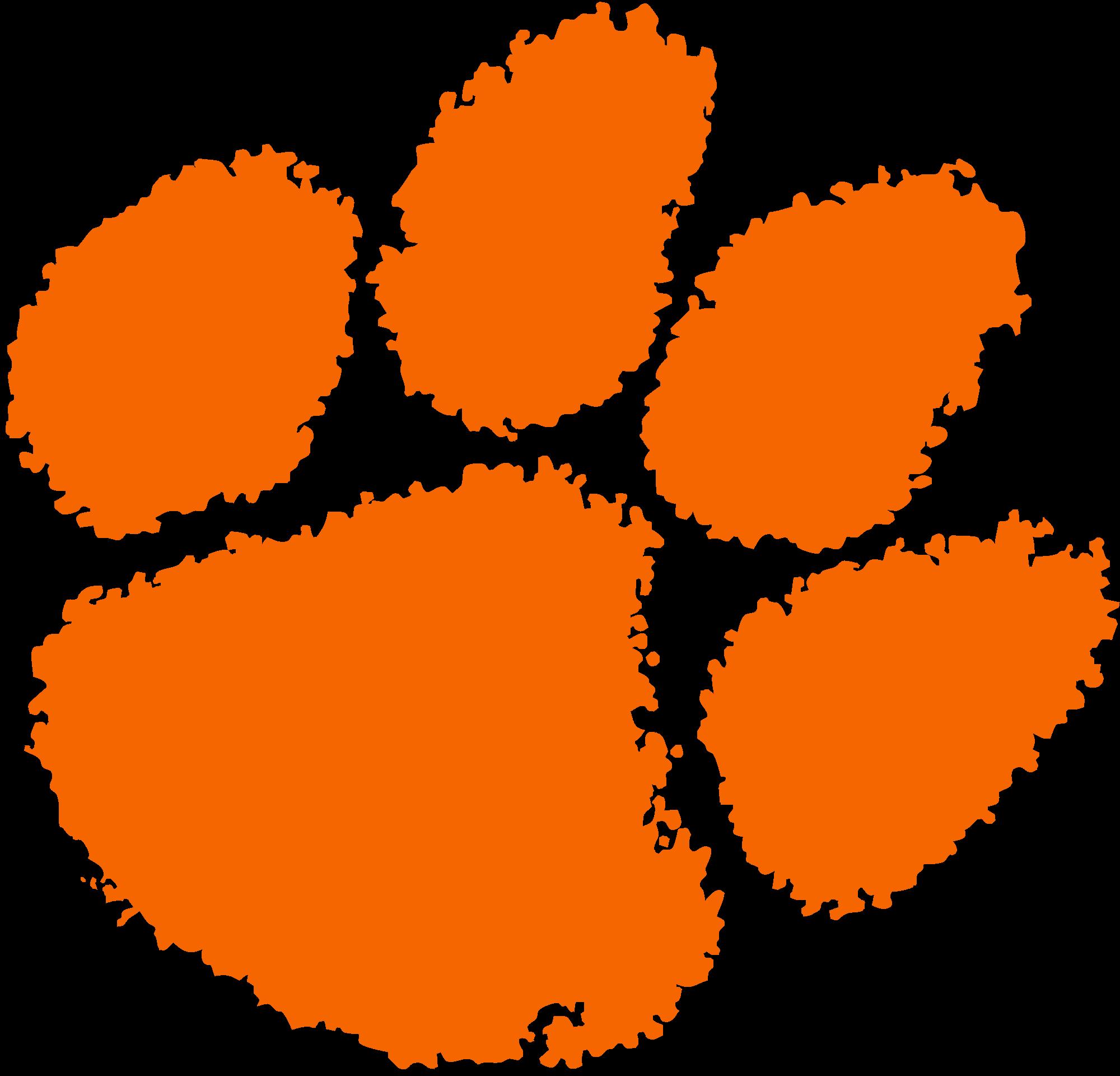 2000x1920 Fileclemson University Tiger Paw Logo.svg