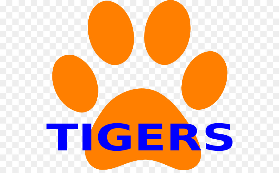 900x560 Tiger Clemson University Paw Clip Art