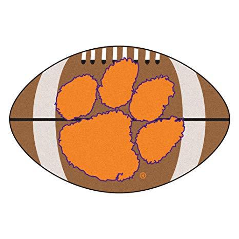 466x466 Fanmats Ncaa Clemson University Tigers Nylon Face