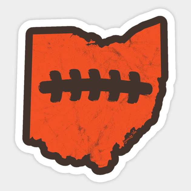 630x630 Cleveland Browns Ohio Football Fan Laces Design