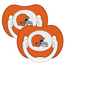 355x355 Baby Fanatic Nfl Team Pacifier 2 Pack Cleveland
