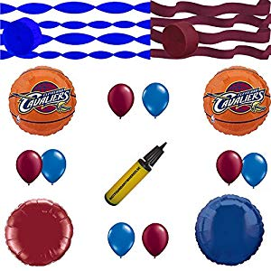 300x300 Cleveland Cavaliers Balloon And Streamers Decoration