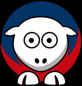 285x299 Sheep Cleveland Indians Team Colors Clip Art