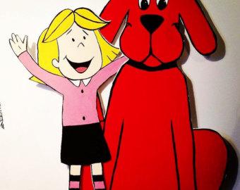 340x270 Clifford Big Red Dog Etsy