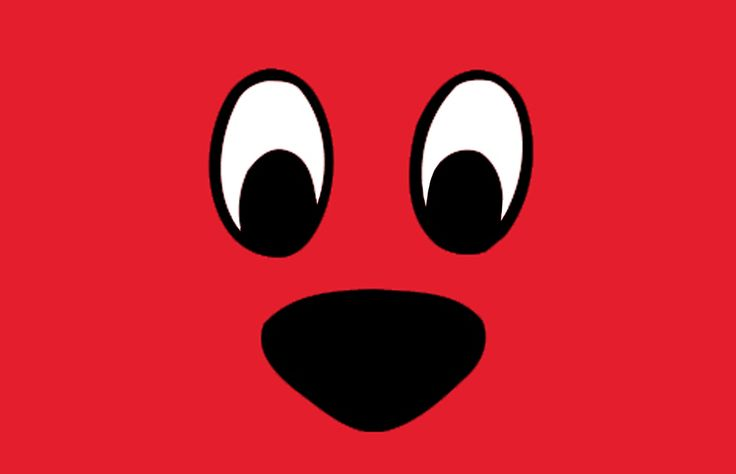 Clifford The Big Red Dog Clipart