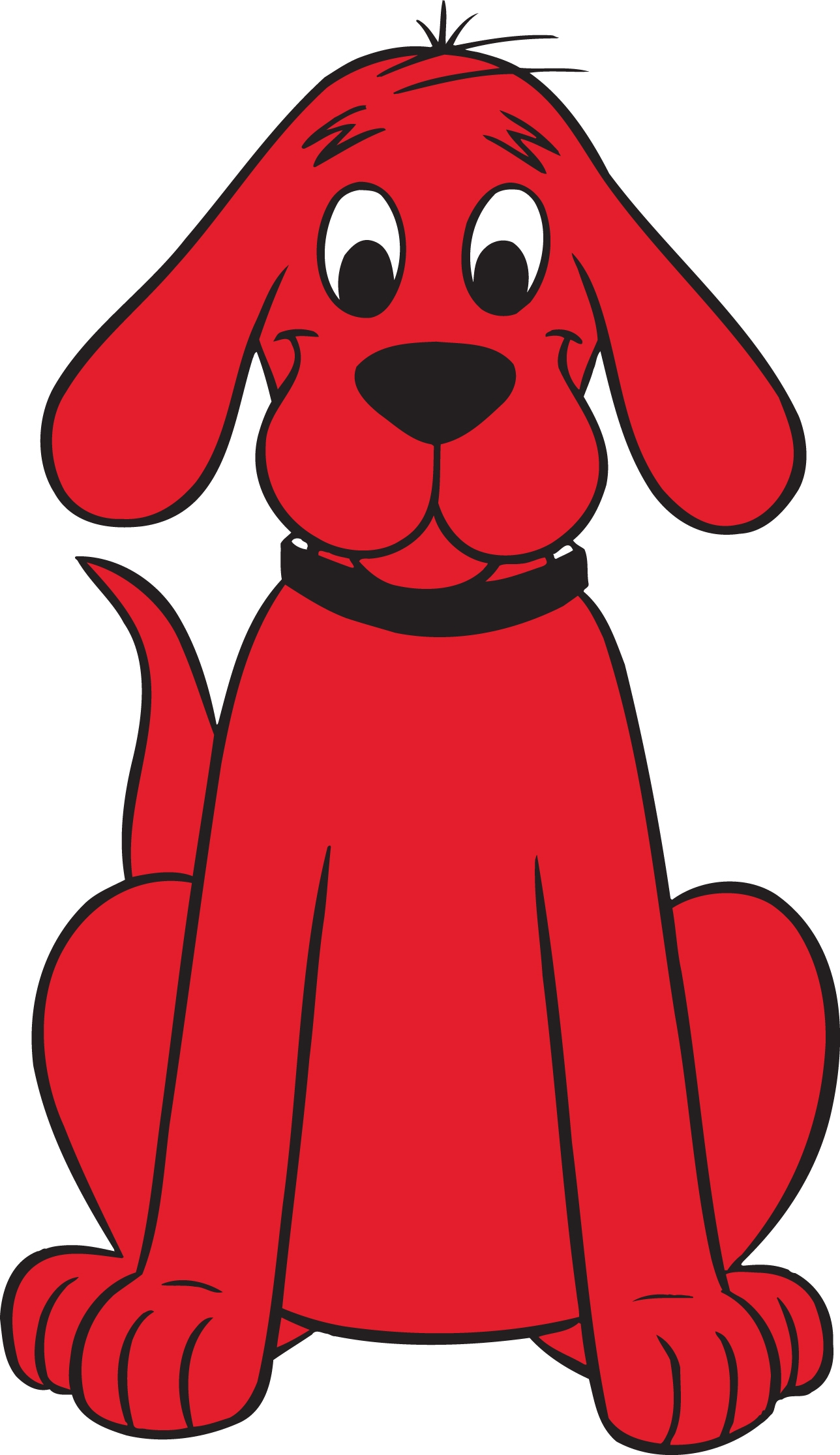 1288x2231 Clifford The Big Red Dog (Character) Animated Foot Scene Wiki