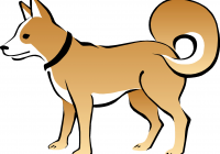 200x140 Free Dogs Clipart Coloring Drawing For Kids