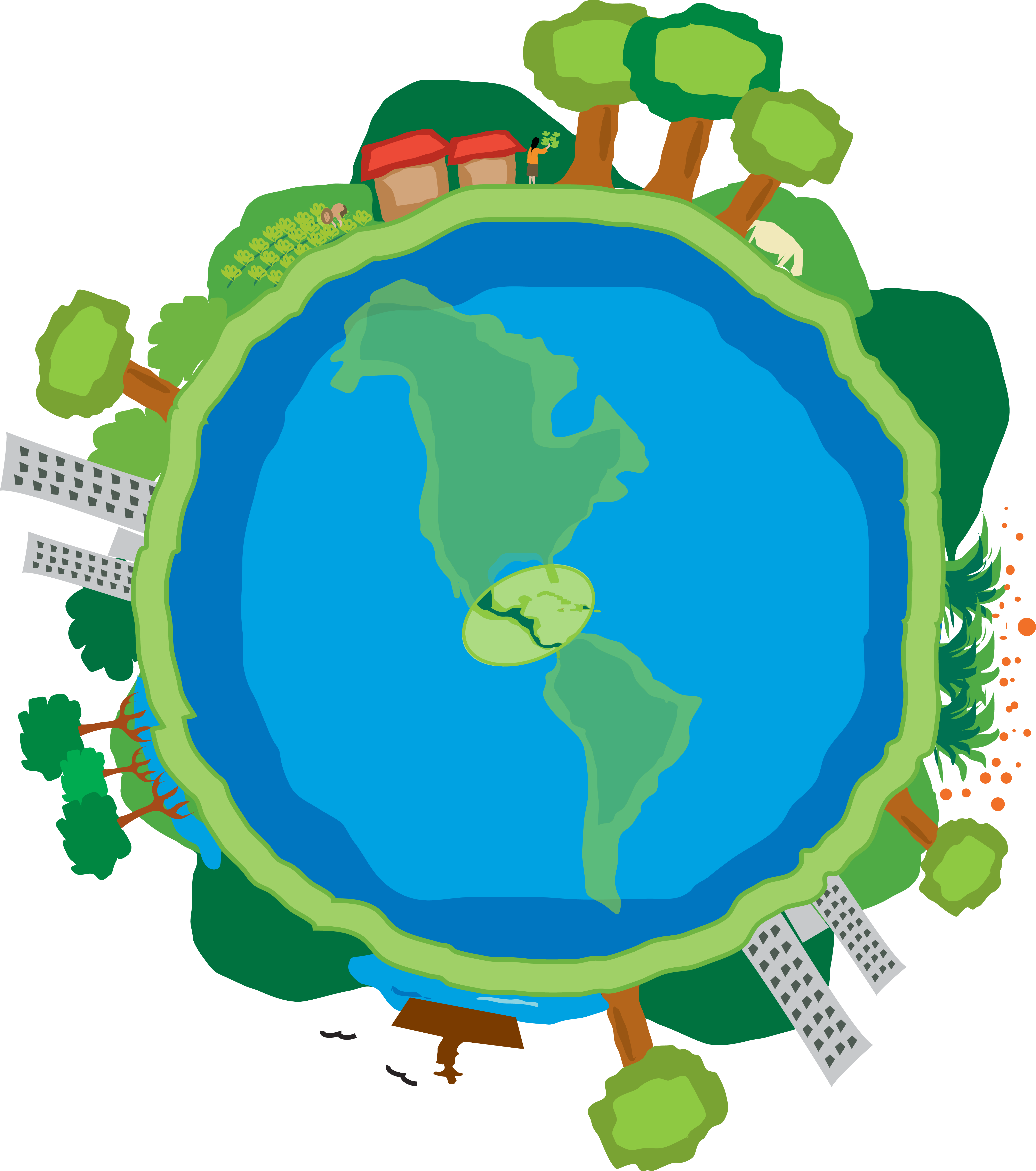 5051x5711 Regional Climate Change Program, Central America Terra Global