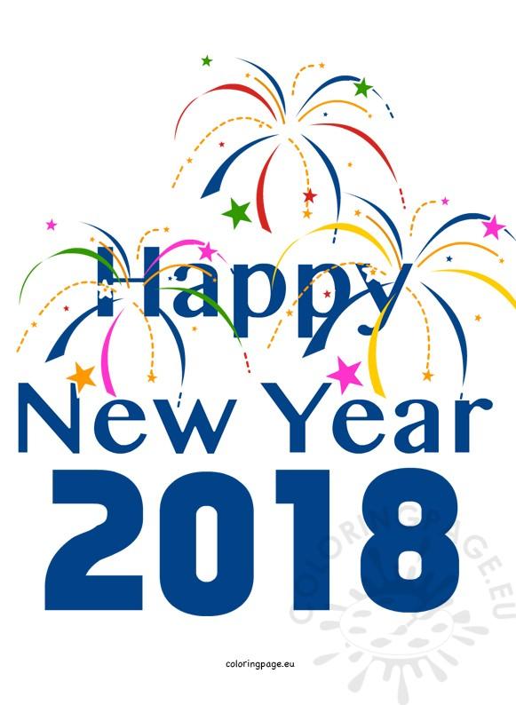 581x794 Happy New Year 2018 Clip Art, Vector Design Art Hd Images Happy