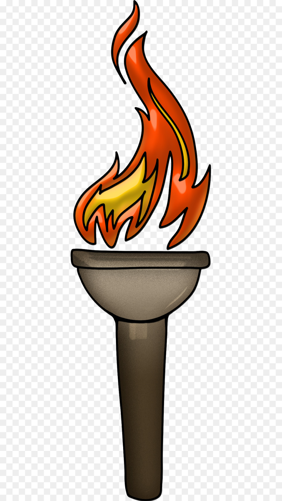 900x1600 Olympic Games 2018 Winter Olympics Torch Relay Clip Art