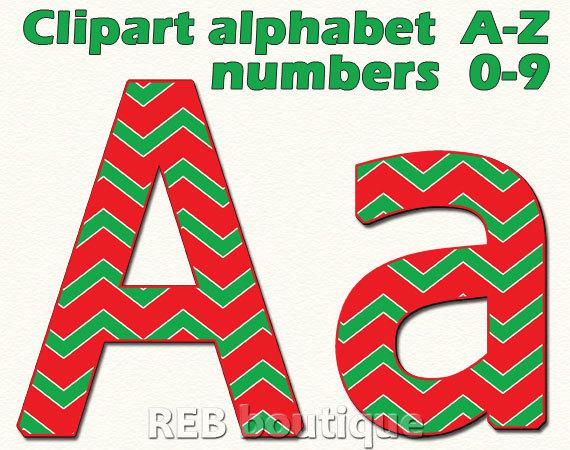 570x450 Christmas Clipart Alphabet