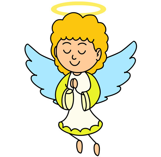 550x535 Free Clipart Of Angels