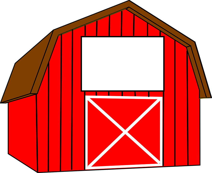 882x720 Interesting Red Barn Doors Clip Art And Peekaboo Barn On The App