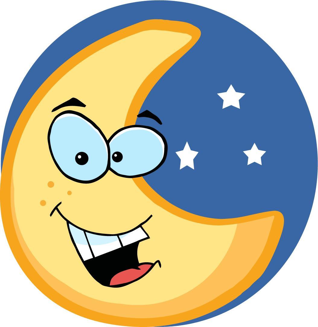 1054x1085 Moon Cartoon Clipart