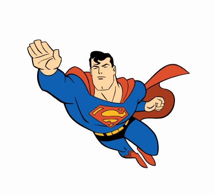 440x400 Superman Clip Art Awesome Superman Clipart