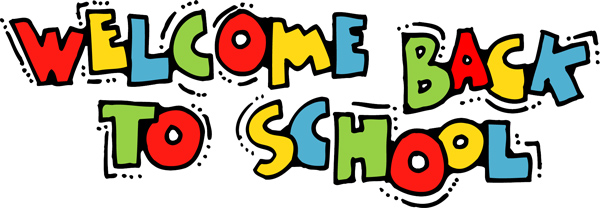 Image result for welcome back to school free clipart