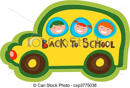 450x304 Back To School Bus. Back To School Yellow Bus Vector