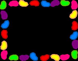 300x237 Jelly Bean Background Rainbow Clip Art