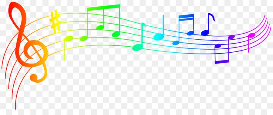 900x380 Musical Note Staff Clip Art