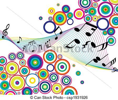 450x380 Musical Stuff Background. Musical Notes Stuff Vector Clip Art