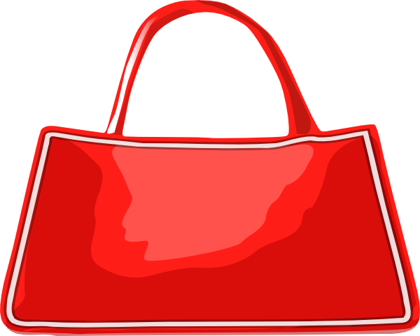 600x481 Hand Bag Clip Art