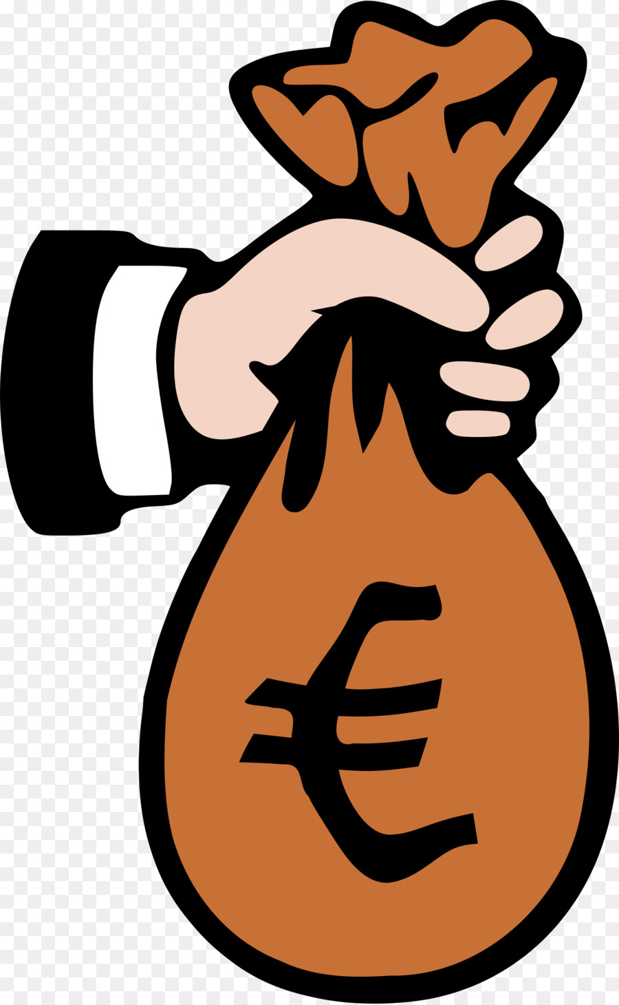 900x1460 Money Bag Clip Art