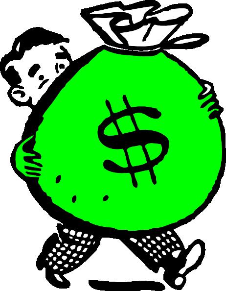 462x594 Money Bag Clip Art Free Clipart Images 3