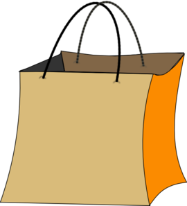 270x297 Trick Or Treat Bag Clip Art