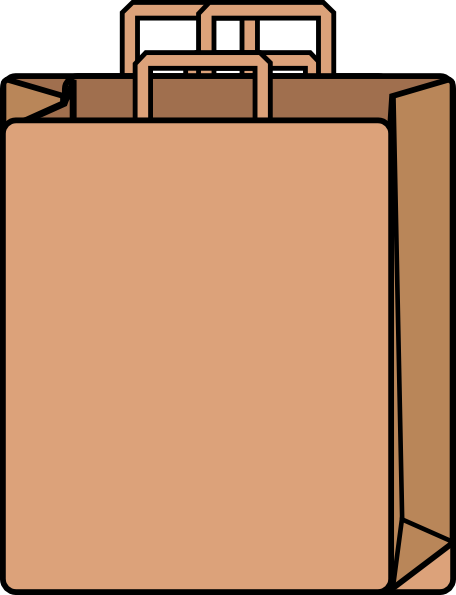456x595 Brown Bag Clipart Brown Paper Bag Clip Art Z9mzslto