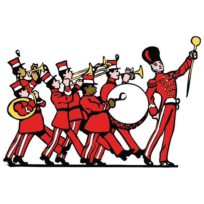 660x660 Free Marching Band Vector Clip Art.eps Psd Files, Vectors