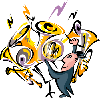 350x343 Image Of Band Clipart
