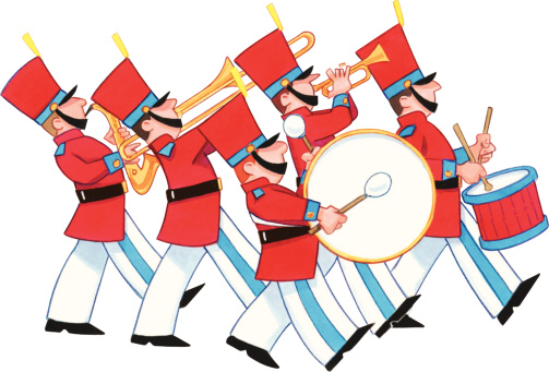503x341 Marching Band Clip Art