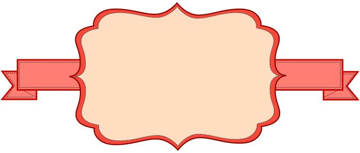 708x302 Blank Banner Clip Art 180478.png Diy