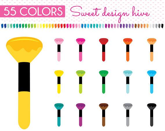 570x453 Makeup Brush Clipart, Makeup Brush Clip Art, Makeup Clip Art