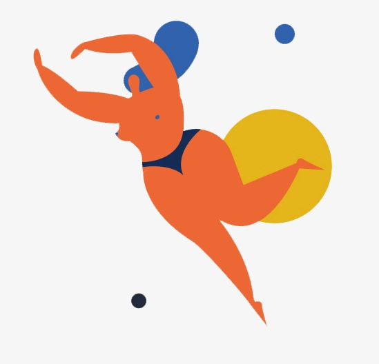 549x528 Play Beautiful Illustration Material, Sport Beauty, Creative