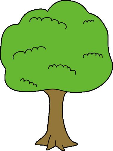 375x500 Big Tree Clip Art Image