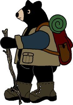 236x337 Clipart Of A Black Bear School Mascot Character Wearing A Backpack