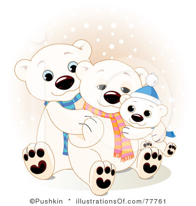 400x420 Polar Bear Clip Art Black And White Clipart Panda