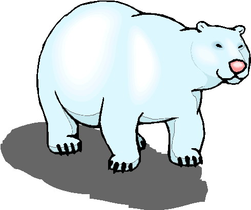 490x411 Polar Bears Clip Art Farm
